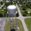 Aerial video Water Tank Moore Haven — Stock Video #48396715