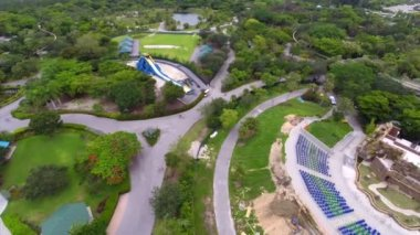 Aerial video Zoo Miami metro — Vidéo