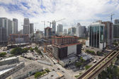 Aerial photo Brickell City Center Miami — Stock Photo