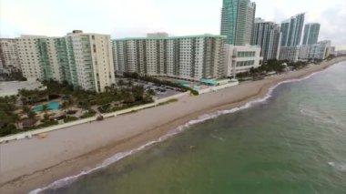 Aerial video Hallandale Beach — Stock Video