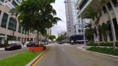 Las Olas Fort Lauderdale Florida stock video — Stock Video