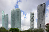 Skladem obrázek highrise architektura miami — Stock fotografie
