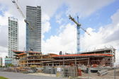 Construction of the Frost Art Museum at Downtown Miami — Foto Stock