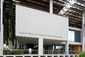 Perez Art Museum Miami and Museum Park stock image — Stock Photo