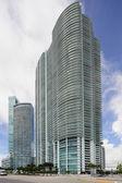 Stock image highrise architecture Miami — Stock Photo