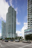 Stock image highrise architecture Miami — Stock Photo
