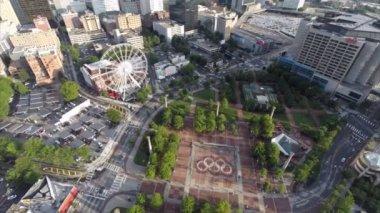 Downtown Atlanta Georgia — Stock Video