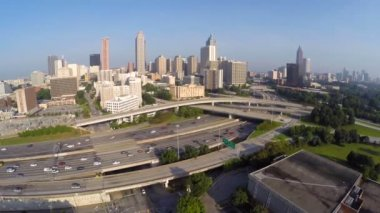 Downtown atlanta — Video Stock