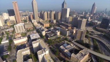 Downtown atlanta — Stockvideo