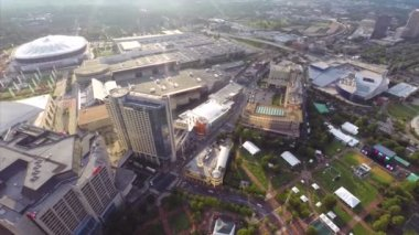 Downtown atlanta gruzie — Stock video