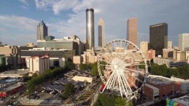 市中心亚特兰大佐治亚 — 图库视频影像