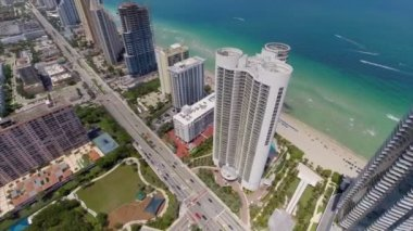 High rise condos in Miami circa 2014 — Vidéo