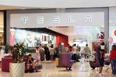 Tesla Dadeland Mall Miami — Stock Photo