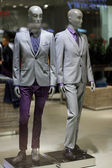 Mannequins in business suits — Stock Photo