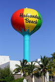Hallandale water tower — Stock Photo