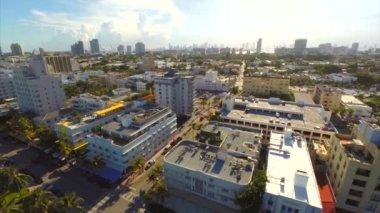 Aerial video ocean drive — Stock Video