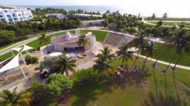 South Pointe Park Miami Beach — Stock Video