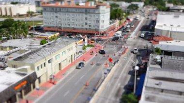 South Beach Miami time lapse. — Stock Video
