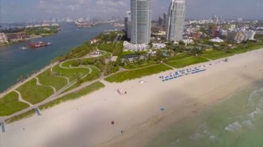 Tip of Miami Beach — Stock Video