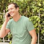 Man on the phone — Stock Photo #5463346