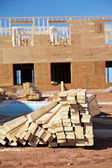 Lumber Pile — Stock Photo