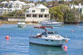 Embarcações de recreio de bermuda — Foto Stock