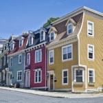Newfoundland Houses — Stock Photo #12338390