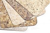 Laminate Flooring Samples — Stock Photo