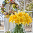 Easter Daffodils — Stock Photo #17147411