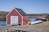 Fishing Shed, Nova Scotia — Stock Photo