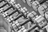 Dumbbells — Stockfoto