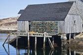 Cabaña del pescador — Foto de Stock
