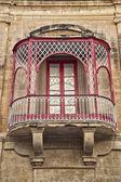 Maltese Balconey — Stock Photo