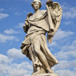 Ponte Sant'Angelo Angel - Stock Photo