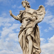 Ponte Sant'Angelo Angel with the Nails - Stock Photo