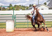 Barrel Racer — Stock Photo