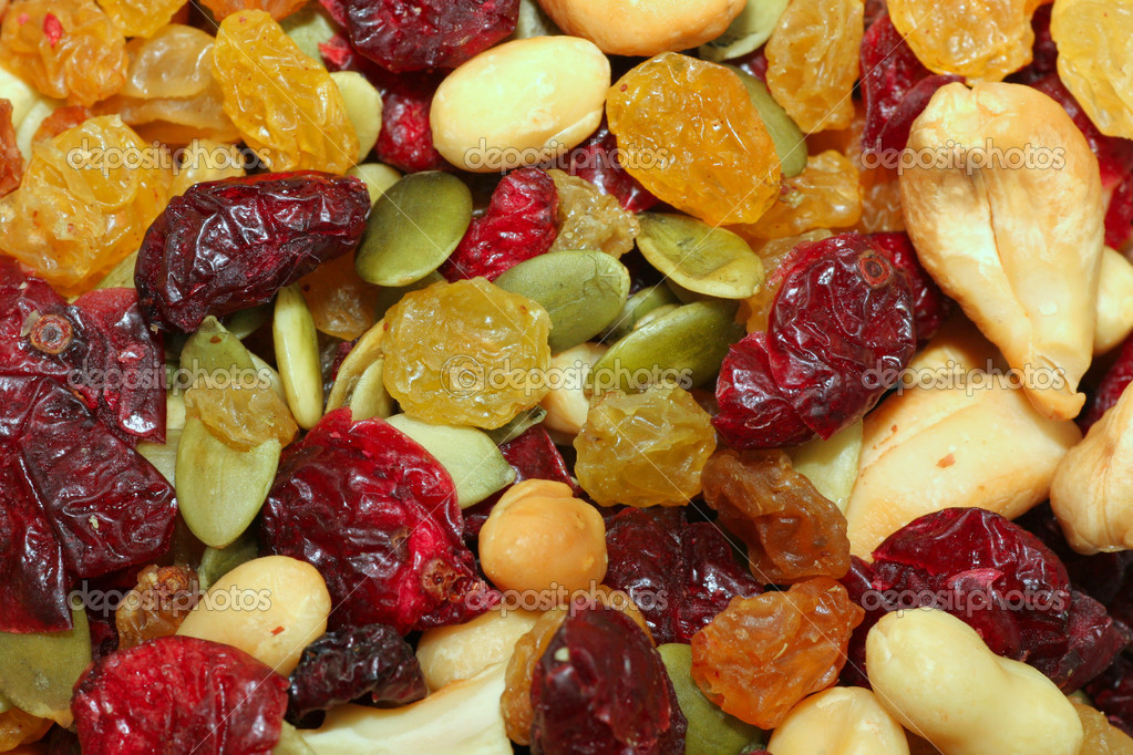 Cranberry Trail Mix 1 — Stock Photo © onepony #2362711