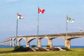 Prince Edward Island and the Confederation Bridge — Stock Photo