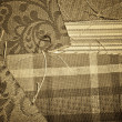 Antique Fabric Samples — Stock Photo #30554219