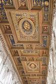 Basílica de san juan de letrán techo — Foto de Stock