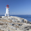 Peggy's Cove lighthouse — Stock Photo #32074173