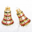 Stock Photo: Christmas Bell Ornaments