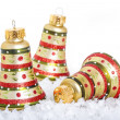 Christmas Bell Ornaments — Stock Photo #35180021