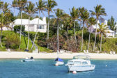 Bermuda Pleasure Boats — Stock Photo