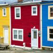 Newfoundland Houses — Stock Photo