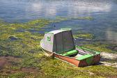 Rustic Fishing Boats — Stockfoto