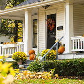 Autumn House — Stock Photo