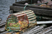 Newfoundland Lobster Trap — Stock Photo