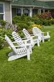Garden Chairs — Stock Photo