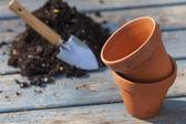 Clay potten — Stockfoto